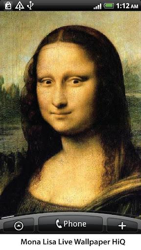 Mona Lisa Live Wallpaper HiQ