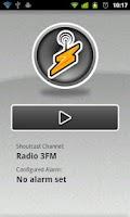 Screenshot of FMAlarm