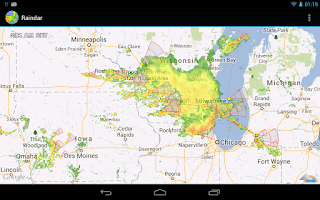 Screenshot of Raindar