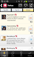 Screenshot of Chat live : Twituu