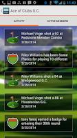Screenshot of MyScorecard Golf Score Tracker