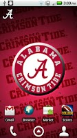 Screenshot of Alabama Revolving Wallpaper