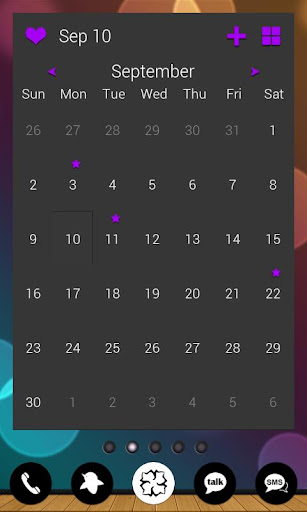 【免費個人化App】APW Themes: Dark Purple-APP點子