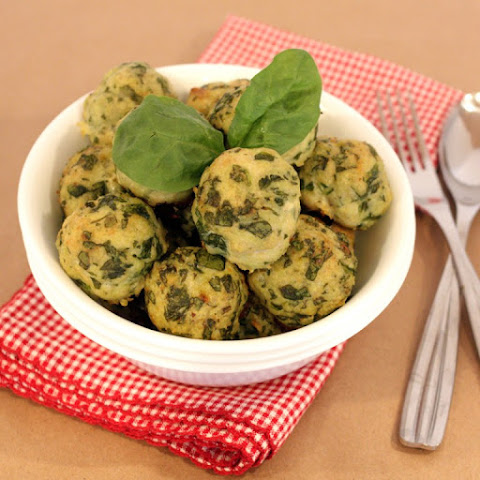 Spinach & Roasted Garlic Turkey Meatballs