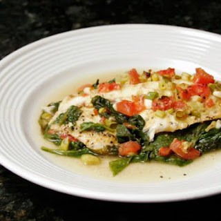 Baked Tilapia Fillet With Spinach Recipes