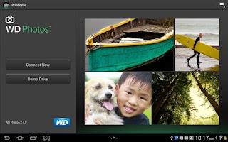 Screenshot of WD Photos
