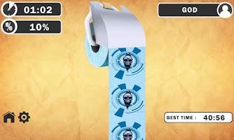 Screenshot of Toilet Roll Rush