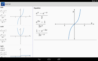 Screenshot of Math Ref