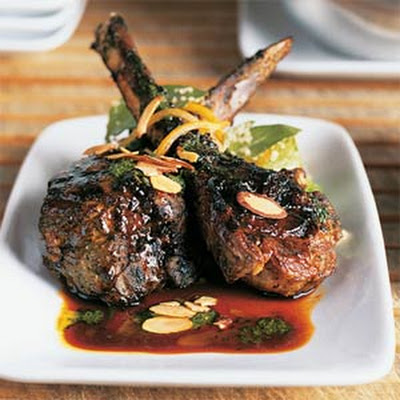 Lamb Chops with Moroccan Barbecue Sauce
