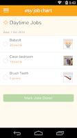 Screenshot of My Job Chart