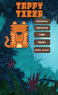 Tappy Tiger: Endless Game - screenshot