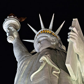 Lady Liberty New York, New York Hotel by Steven Aicinena - Buildings & Architecture Statues & Monuments