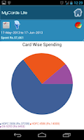Screenshot of MyCards - Card Spend Tracker