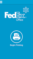 Screenshot of FedEx Office