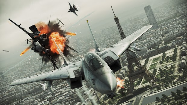 Ace Combat: Assault Horizon Games For Windows Live to Steam patch launches today