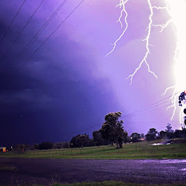 Massive Lighting  by Vanessa Sapsford - News & Events Weather & Storms ( strike, massive, lighting, storm, light, rain )