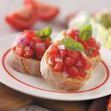 Garden-Fresh Bruschetta Recipe