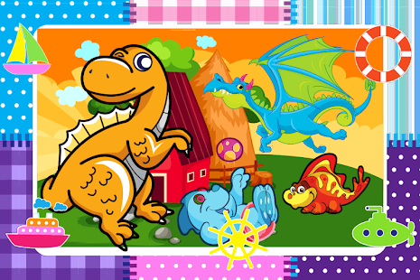 Dinosaurs Differences Game - screenshot