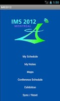 Screenshot of IMS2012