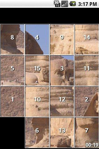 Ancient Egypt Slide Puzzles