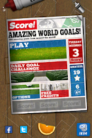 Screenshot of Score! World Goals
