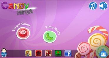 Screenshot of Candy Ninja