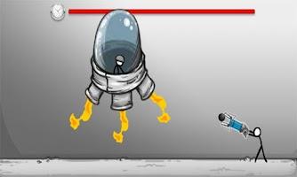 Screenshot of Stickman Click Escape Lab