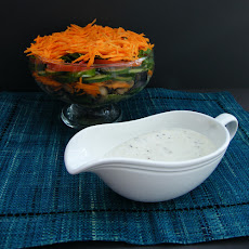 Layered Salad with Vegan Mayonnaise