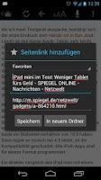 Screenshot of Österreich Online Zeitungen