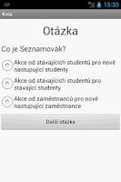 Screenshot of FIT Kvíz