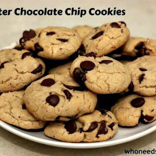 No Butter Chocolate Chip Cookies