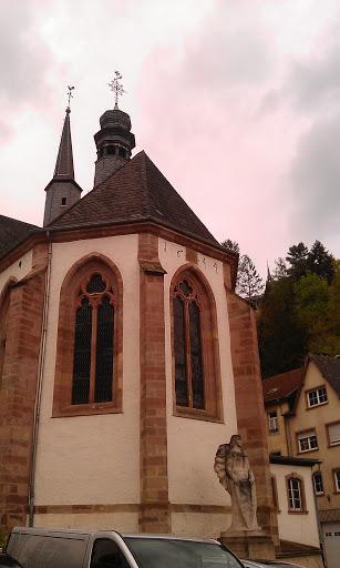 Vianden, Trinitarierkirche 1248