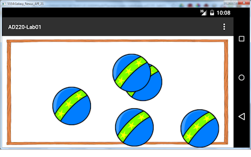 Bouncing Balls - screenshot