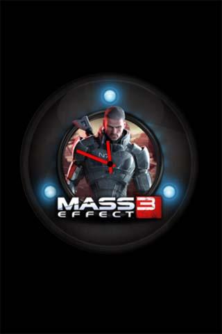 Mass Effect Clock