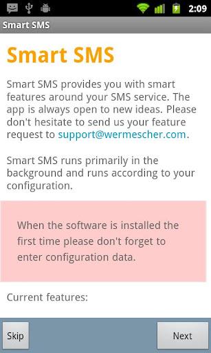 Smart SMS