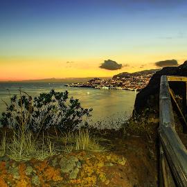 Caniço by Rubina Delgado - City,  Street & Park  Night ( funchal, night, portugal, madeira, nightscape )