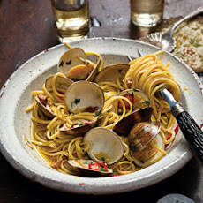 Linguine with Clams and Chiles
