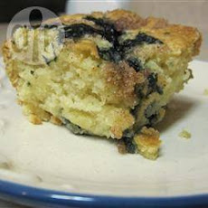 Vegan Blueberry Crumb Cake