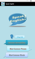 Screenshot of Speak English