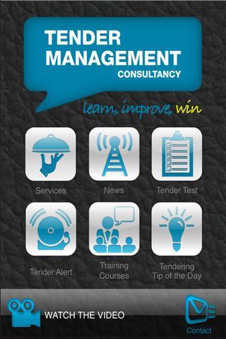 Tender Management Consultancy