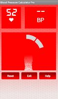 Screenshot of Blood Pressure Calculator Pro