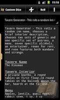 Screenshot of Truly Random Dice Roller Free