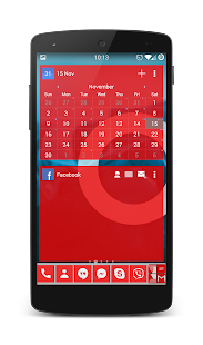 APW Theme 192C Red - screenshot