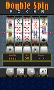 Double Spin Poker - screenshot