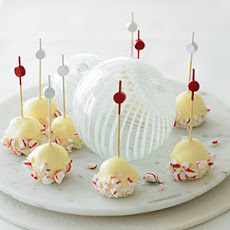 Peppermint Ice Cream Bonbons