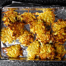 Parsnip Latkes With Horseradish And Dill