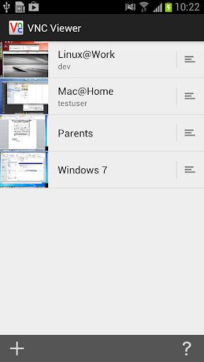Screenshot #8 of VNC Viewer / Android