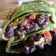 Delicious Black Bean Burritos