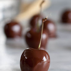 Chocolate Covered Bourbon Soaked Cherries
