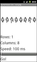Screenshot of Sprite Tester Lite